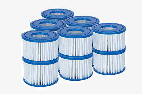 LAY-Z-SPA FILTERS  6 PACK
