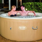Lay-Z-Spa Palm Springs Inflatable Hot Tub Review