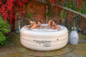 Lay-Z-Spa Vega Premium Series Portable Inflatable Hot Tub