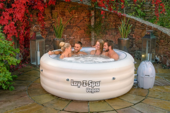 Lay-Z-Spa Vega Premium Series Portable Inflatable Hot Tub