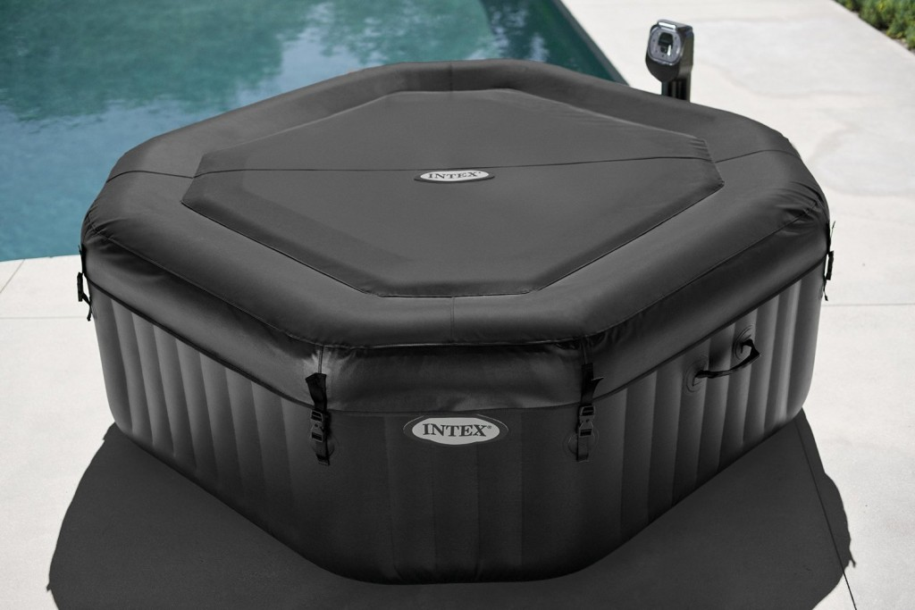intex purespa octagonal jet bubble therapy spa review. Black Bedroom Furniture Sets. Home Design Ideas