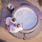 Lay-Z-Spa Hot Tub Steps And Surround