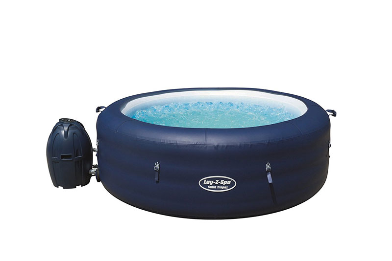 Lay-Z-Spa Saint Tropez Inflatable Hot Tub Review