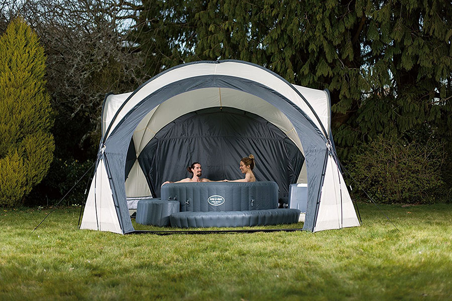 Lay-Z-Spa Hot Tub & Pool Dome Enclosure Gazebo Review
