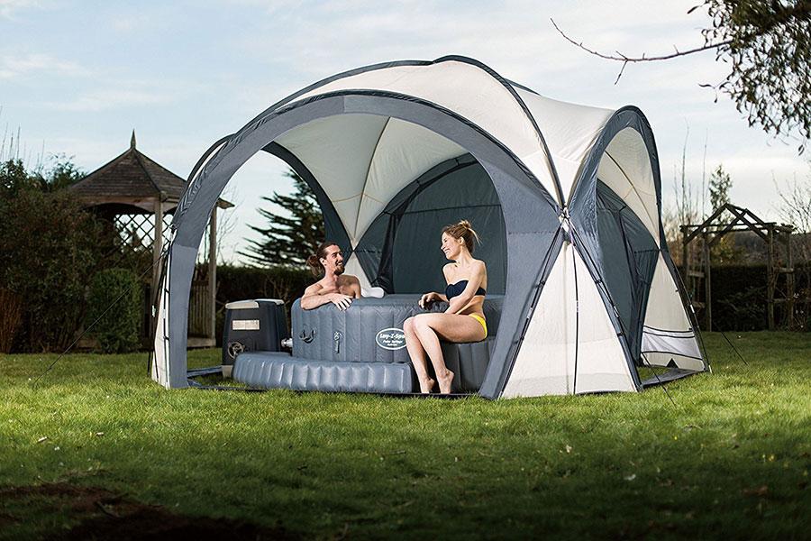 Lay-Z-Spa Hot Tub & Pool Dome Enclosure Gazebo Review