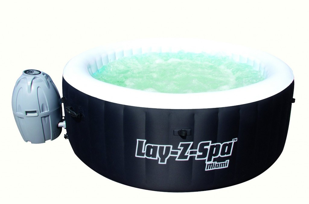 Lay-Z-Spa Miami Inflatable Hot Tub Spa Review