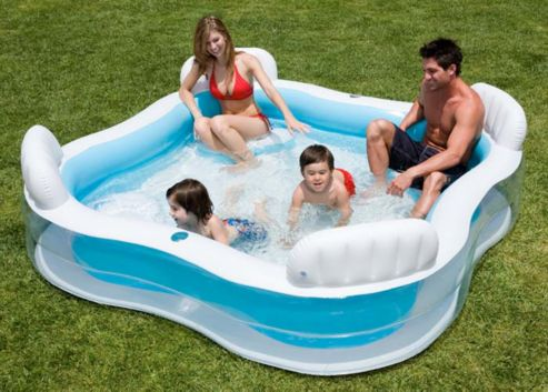intex swim centre family lounge pool. Black Bedroom Furniture Sets. Home Design Ideas
