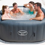Lay-Z-Spa Hydrojet Inflatable Hot Tub – New for 2016