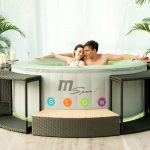 MSPA Glow Round Luxury Inflatable Spa Review