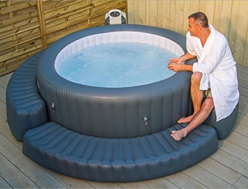 our guide to the best spa hot tub steps. Black Bedroom Furniture Sets. Home Design Ideas
