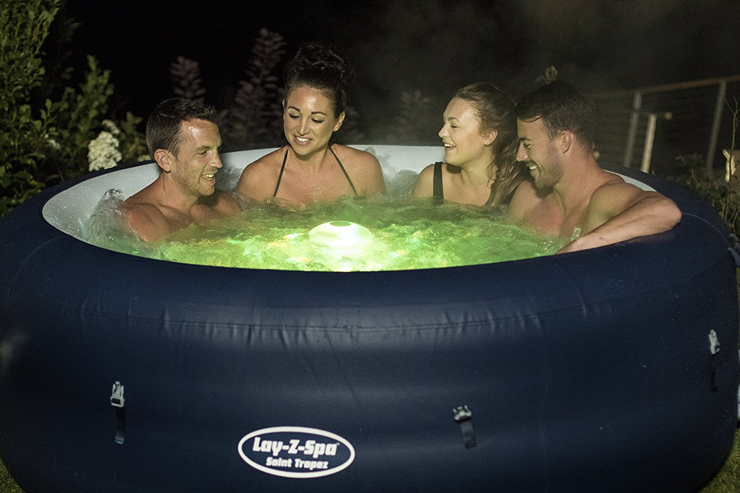 Lay Z Spa Saint Tropez Inflatable Hot Tub Review