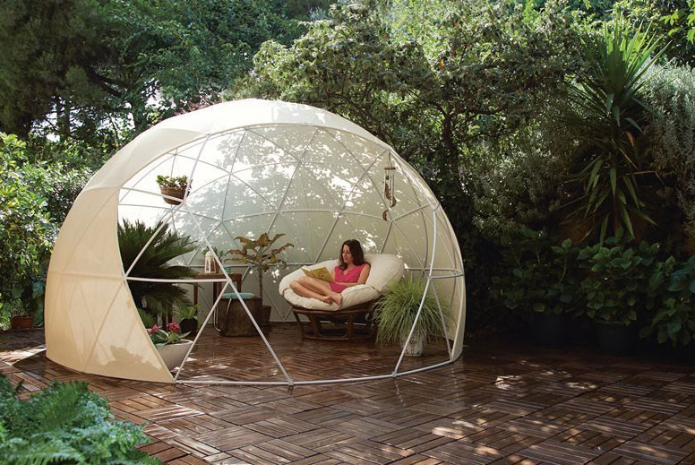 Hot Tub Garden Igloo 360 Dome