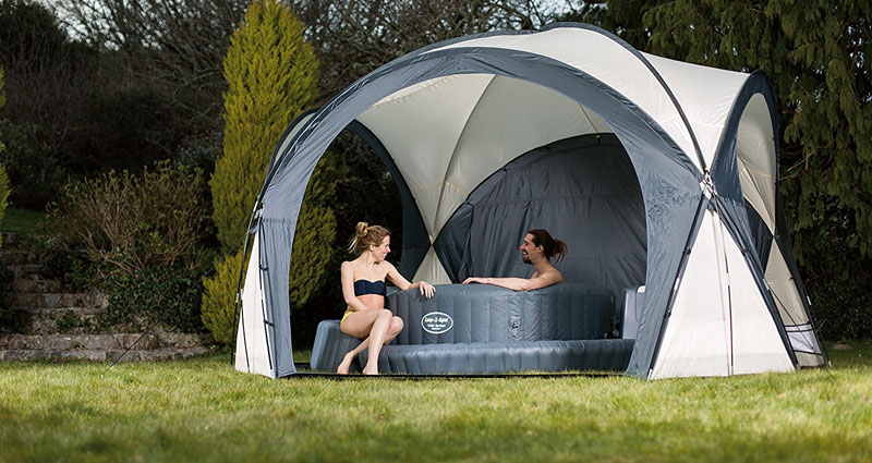 Lay-Z-Spa Hot Tub & Pool Dome Enclosure Gazebo