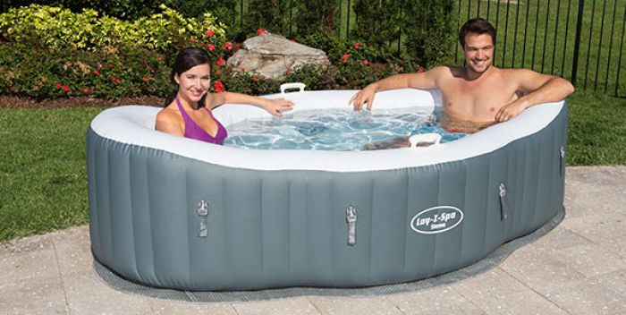 Lay-Z-Spa Siena AirJet Inflatable Hot Tub