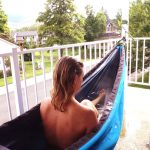The Hydro Hammock Could be the Most relaxing Hot Tub Ever