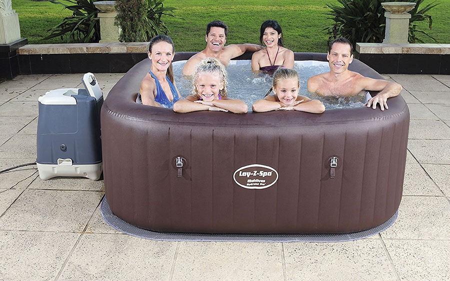 Lay-Z-Spa Maldives Hydro Jet Pro Hot Tub Review