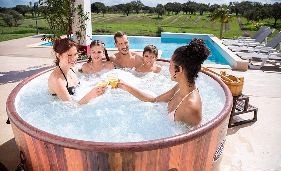 Best Inflatable Hot Tubs From Intex Lay Z Spa Read Our Reviews